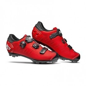 Zapatillas BTT Sidi Dragon 5 Rojo Mate/Negro
