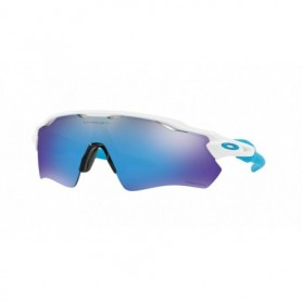 Oakley Radar EV Path Polished White Prizm Sapphire