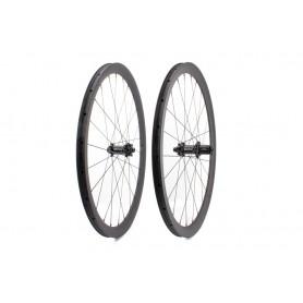 Carbon-Ti X-Wheel SpeedCarbon Disc 38 Clincher