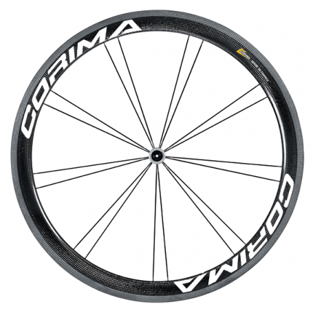 "Corima 47 mm ""WS"" Black Disc Brake tubeless ready"