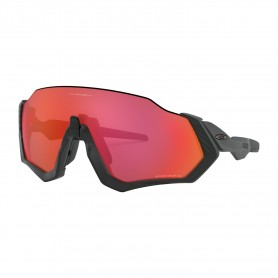 Oakley Flight Jacket Matte Black Prizm Trail Torch