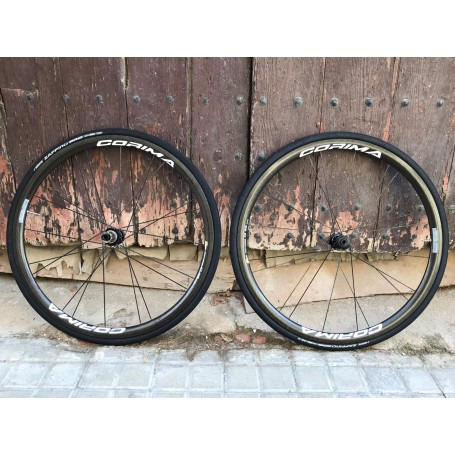 "Ruedas Corima 32 mm ""WS"" Black Disc Brake clincher"
