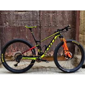 Bicicleta BTT Scott Spark RC World Cup 29 talla M
