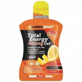 Caja 24 geles NamedSport Total Energy Strong Limón