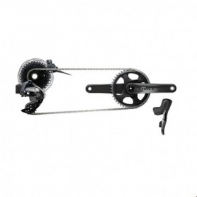 Grupo Sram Force e-Tap AXS 1x freno disco Flat Mount