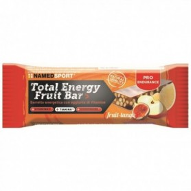 Caja 25 barritas NamedSport Total Energy Fruit Bar Tango 35gr