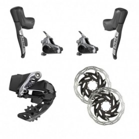 Grupo Sram Red e-Tap AXS 1x freno disco Flat Mount