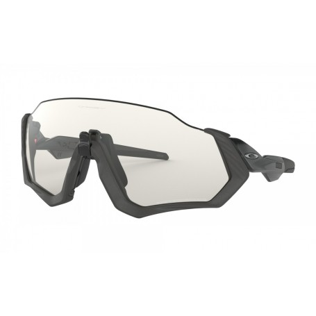 Oakley Flight Jacket Gray Ink Clear Black Iridium Photochromic Activated